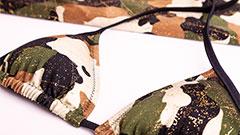 Triangel-Bikinioberteil Violetta